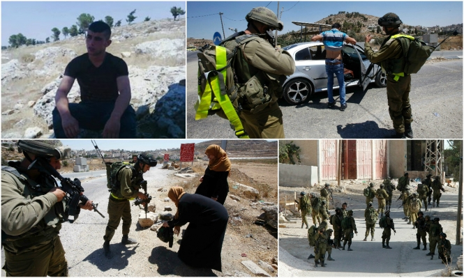 الخليل: استشهاد فتى برصاص الاحتلال بمخيم الفوار