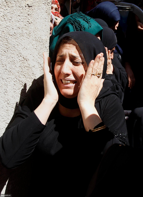 مخيم الفوار: تشييع جثمان الشهيد محمد أبو هشهش
