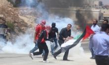 """""""عوفر"""": إصابات بالاختناق خلال مواجهات مع الاحتلال"""