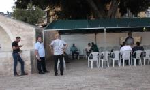 الناصرة: حضور قليل في خيمة التضامن مع الأسير كايد