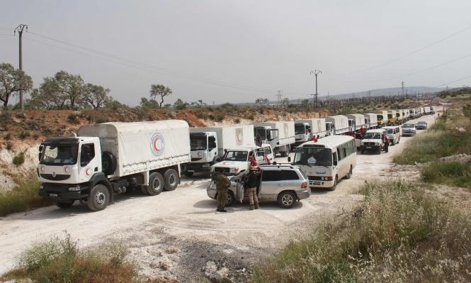 سورية: المساعدات لم تدخل المناطق المحاصرة منذ شهر