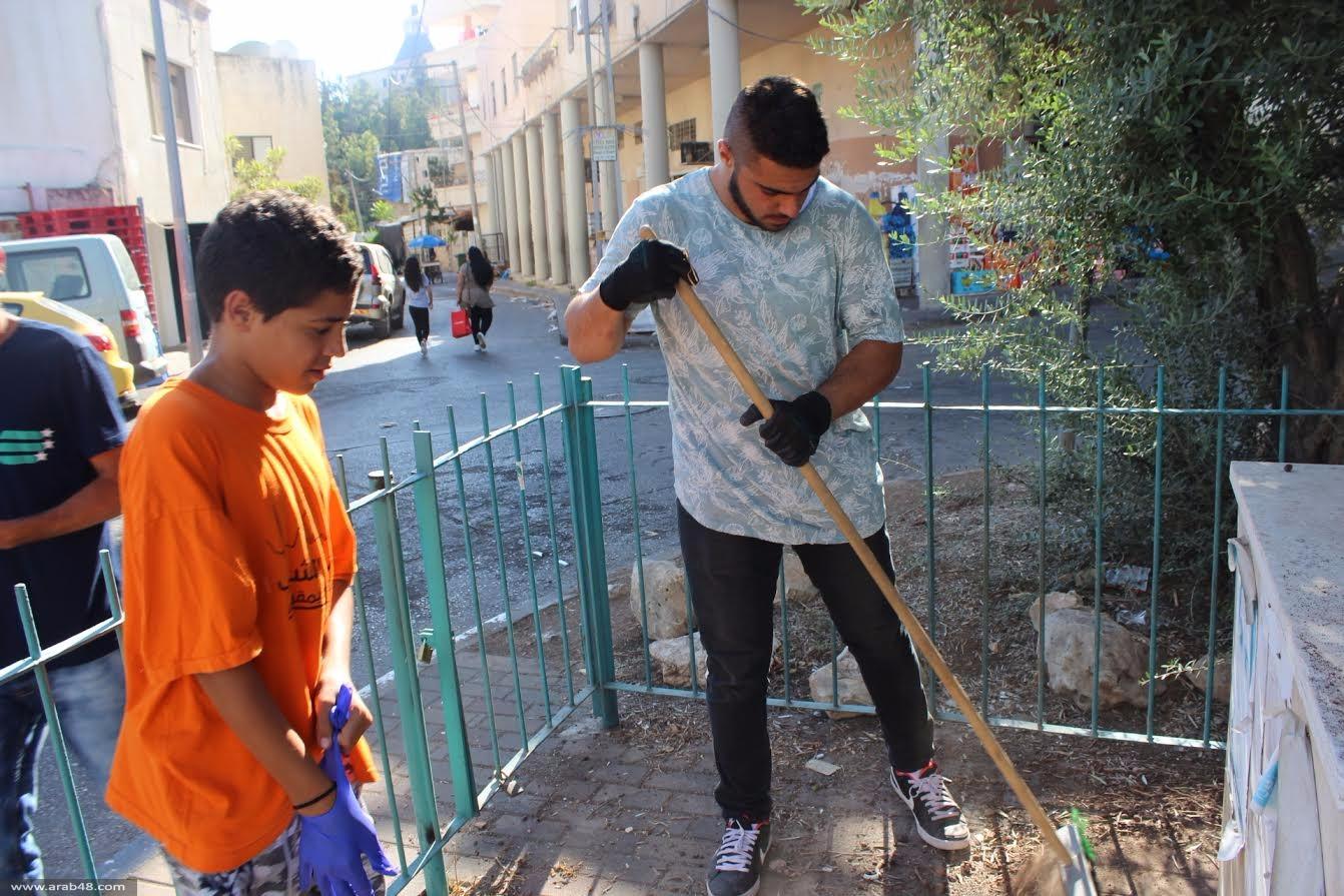 الناصرة: ترميم نصب الشهيد إياد لوابنة