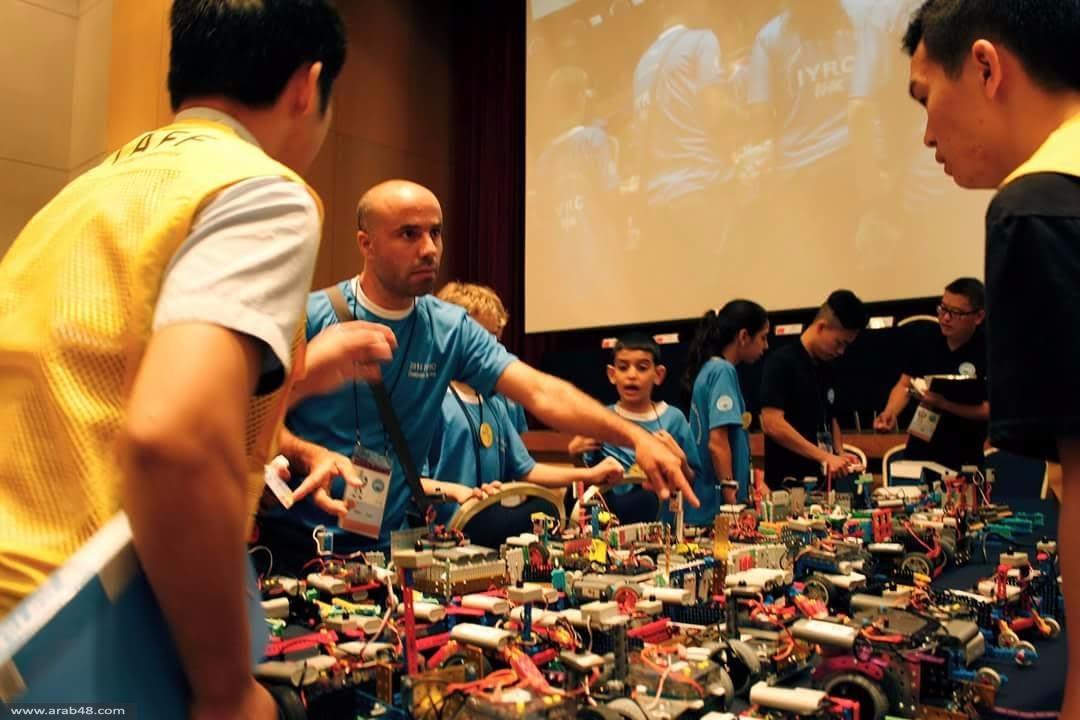 كوريا الجنوبية: طلاب مجتمعنا العربي أبطال العالم بالروبوتيكا