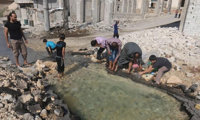 حلب: نقص المياه يثير مخاوف بشأن احتمالات تفشي الأمراض