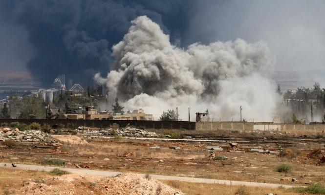 روسيا تمطر حلب بالقنابل العنقودية والنظام يقصف الأكراد ثانية