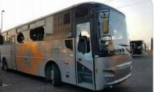 الطيرة: اتهام شابين بالاعتداء على حافلة بسبب قُبلة