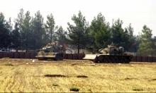 تأكيد توغل الدبابات التركية في سورية