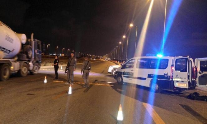 النقب: الشرطة تنصب حواجز بعد إخطار أمني