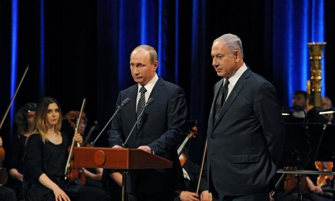 نتنياهو يهاتف بوتين بخصوص المفاوضات مع الفلسطينيين