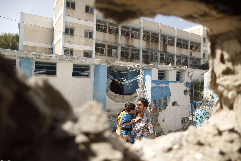 غزة: 33 إنذارا من الأونروا لم تحل دون قصف مدرستها