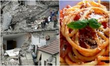 """حملة للتضامن مع المدن الإيطالية المنكوبة بتناول """"الباستا"""""""