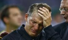 فيديو: شفاينشتايغر يودّع المنتخب الألماني بالبكاء