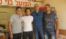 اللاعب يوسف أبو لبن يوقع مع الفريق اللداوي