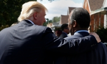 ترامب يستجدي عطف السود