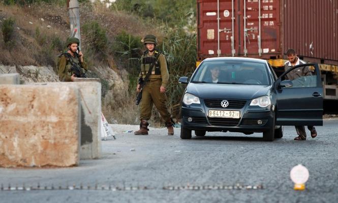 """إغلاق جنوب نابلس واعتقالات و""""منطقة عسكرية مغلقة"""" بالخليل"""