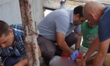 كفر كنا: إصابة خطرة لعامل سقط عن علو بورشة بناء