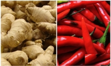 باحثون: الزنجبيل والفلفل الأحمر يوقفان نمو السرطان