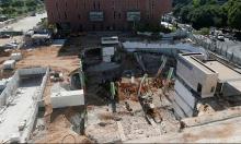 تل أبيب: رفع أنقاض المبنى المنهار سيستغرق أياما كثيرة