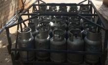 مصادرة 300 أسطوانة غاز في سخنين ودير حنا وكفر مندا