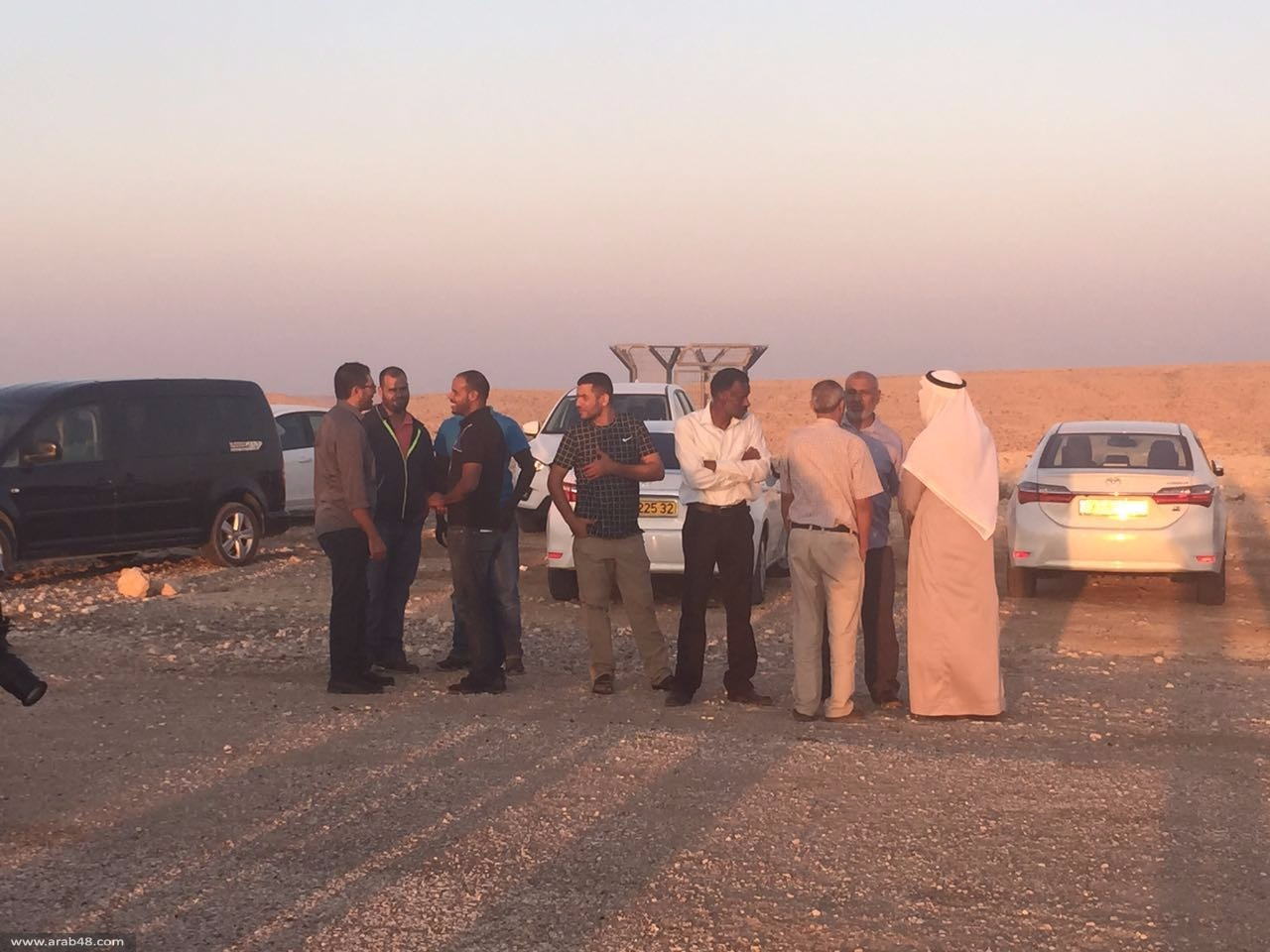 وقفة احتجاجية وإفطار قبالة سجني ريمون ونفحة