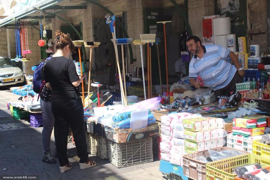 سوق الناصرة في العيد: إقبال شحيح رغم الحملات