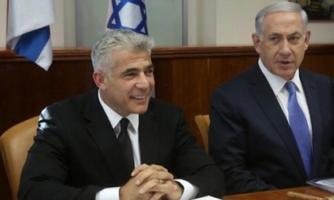 لابيد يتفوق على نتنياهو في استطلاع استثنى العرب