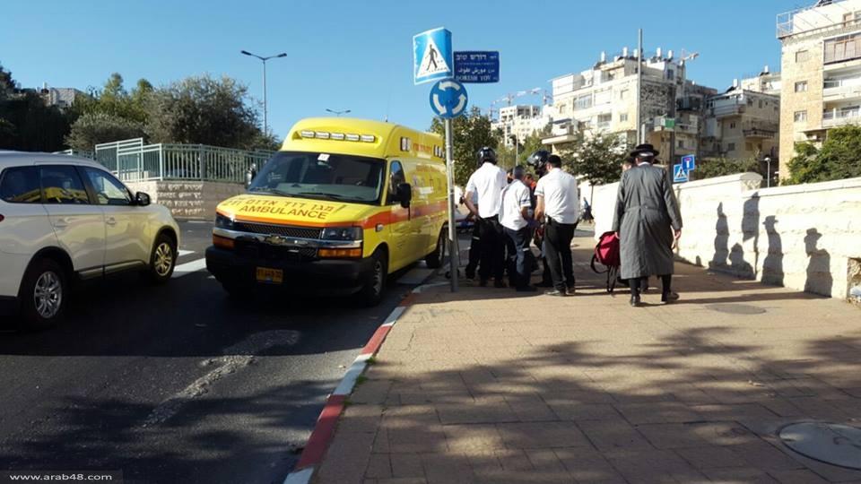 إصابة بالغة الخطورة لعامل سقط في القدس