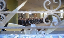 سورية: الأسد يصلي العيد في داريا بعد تهجير سكانها