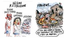 """مقاضاة """"شارلي إيبدو"""" بعد سخريتها من ضحايا الزلزال"""