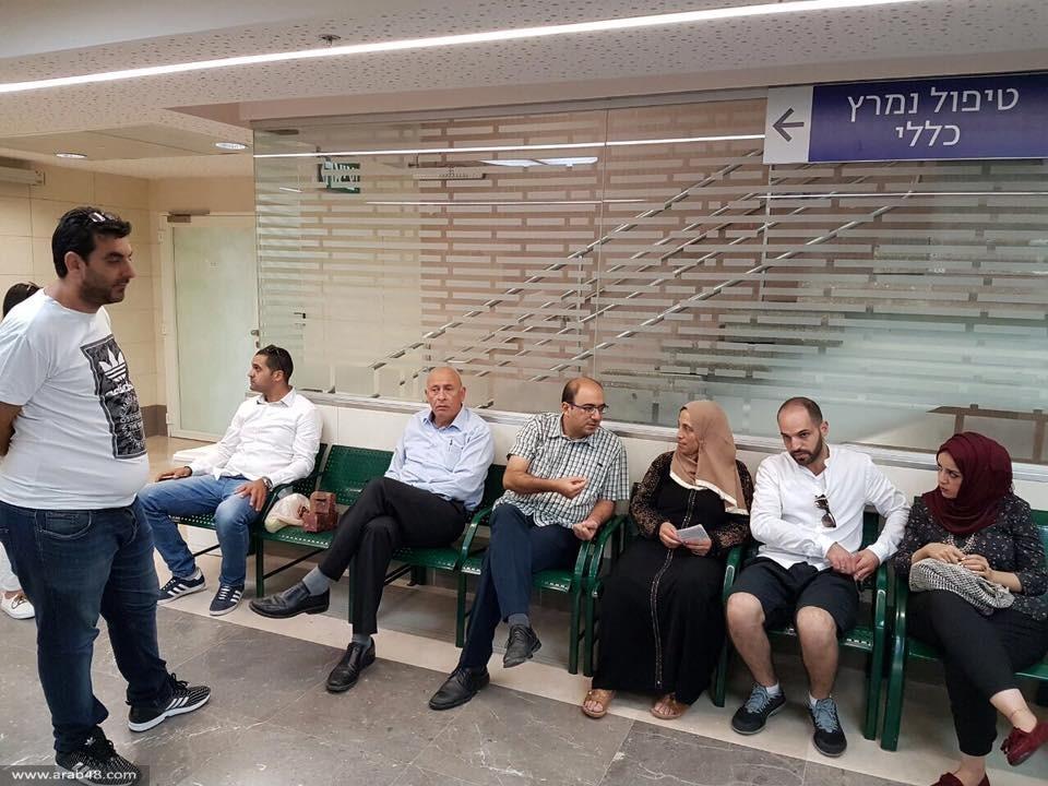 غطاس يزور الأسرى المضربين: الحرية أو الشهادة