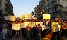 شاحنات المساعدات المتجهة لسورية تنتظر في الحدود التركية