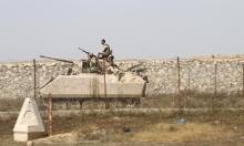 4 قذائف قادمة من مصر تسقط في غزة