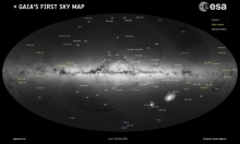 """جايا"": قمر صناعي يرصد نحو ملياري نجم بالفضاء"