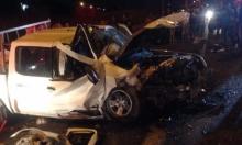 الشيخ دنون: مصرع سيدة وإصابة آخرين بحادث طرق