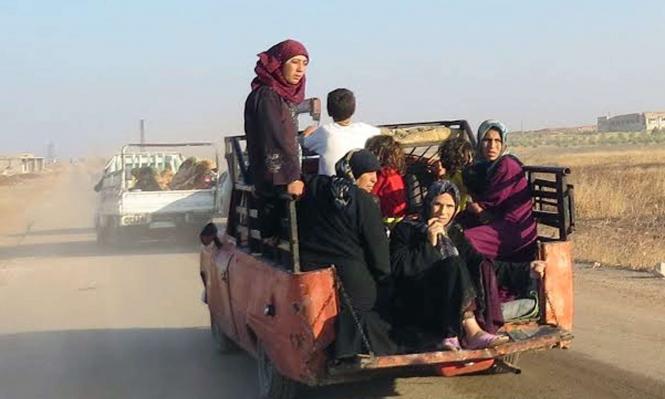 شاحنات المساعدات الأممية عبرت الحدود التركية الى سورية
