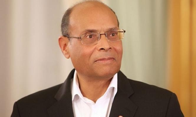 ضغوط تمنع قناة تونسية في بث حوار مع المرزوقي