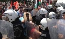 مهجة القدس تستنكر قمع السلطة لمسيرة في جنين