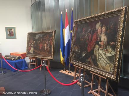 5 لوحات مسروقة تسترد من أوكرانيا لهولندا
