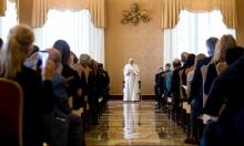 البابا: الترحيب باللاجئين يمنع الإرهاب