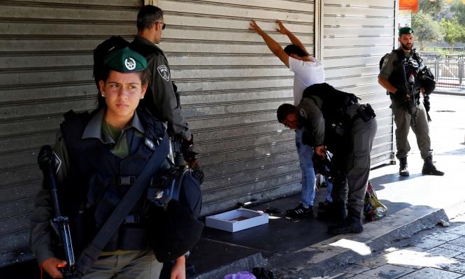 القدس: الاحتلال يجبر التجار على إغلاق محالهم