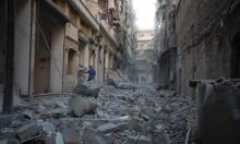 حلب: روسيا تحشد 3 آلاف جندي وغارات عنيفة