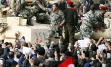 """عزمي بشارة وزولتان براني في """"مؤتمر الجيش والسياسة"""""""