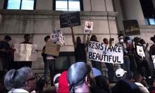 المتظاهرون في شارلوت الأميركية يتحدون حظر التجول
