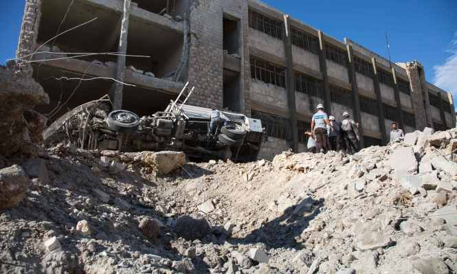 قتلى في قصف عنيف على حلب