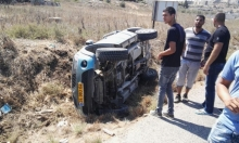 إصابتان في حادث سير قرب طمرة