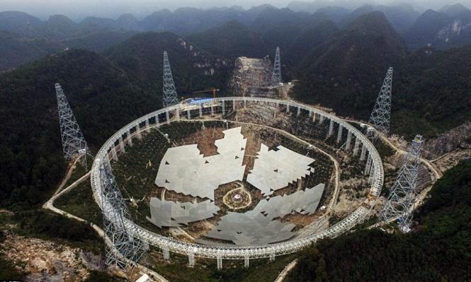 الصين: إطلاق أكبر تلسكوب لاسلكي في العالم غدًا