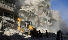 سورية: غارات مكثفة على مخيم حندرات للاجئين الفلسطينيين