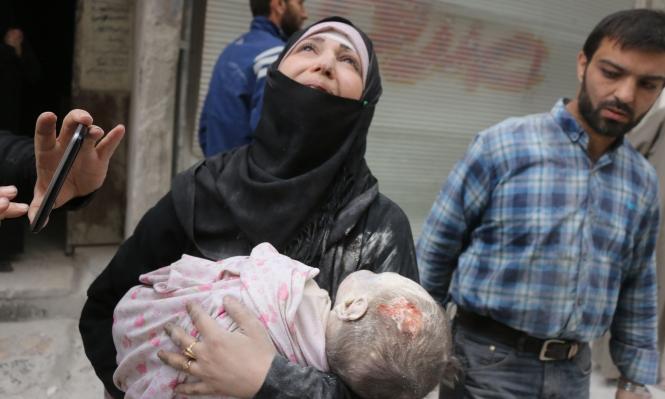 """النظام وحلفاؤه يواصلون مجازر حلب قصفًا و""""عطشًا"""""""