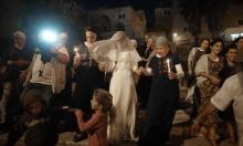حفل زواج في البؤرة الاستيطانية في عمونا