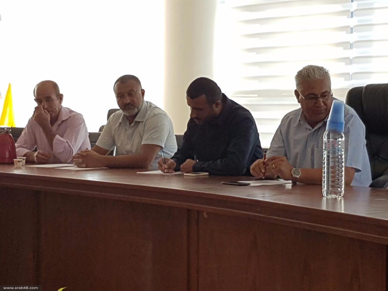 سخنين: اجتماع تحضيري لاستقبال المسيرة المركزية لهبة القدس